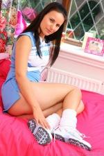 cheerleader Claudia rossi