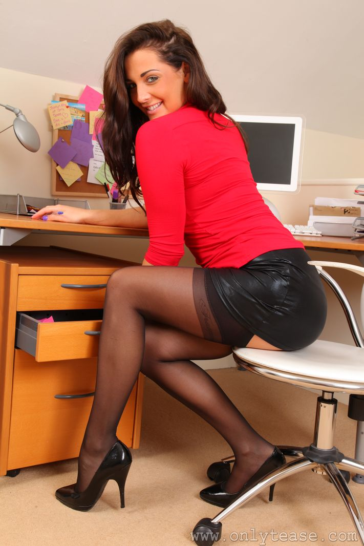 Phrase... super Sexy short skirt pantyhose and heels consider, that
