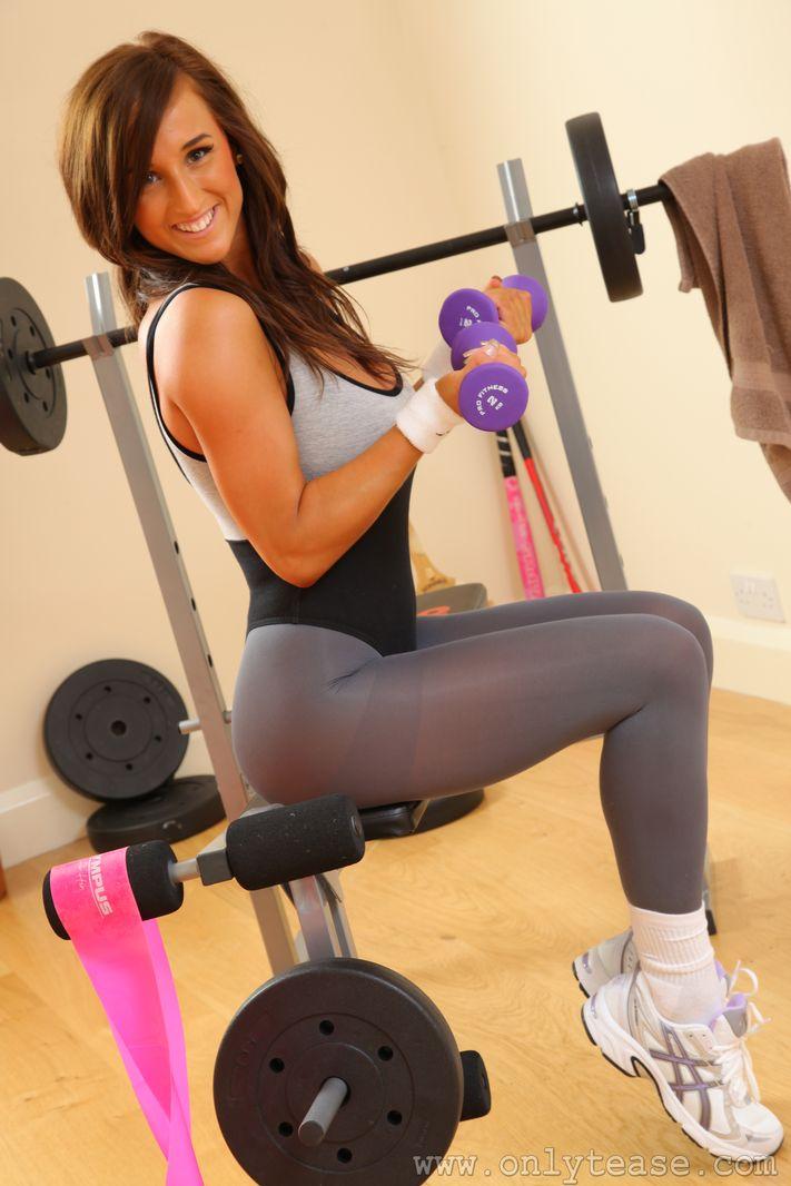 Cardio strip tease workout