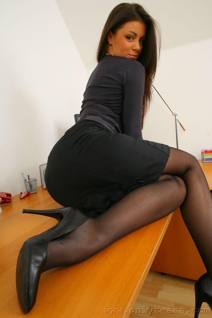 Black Stockings Secretary