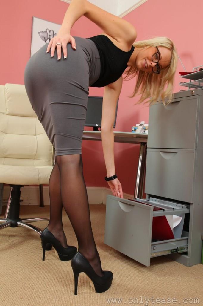 Sexy uniforms secretaries are
